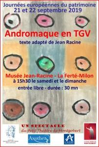 Andromaque en TGV, version 2019