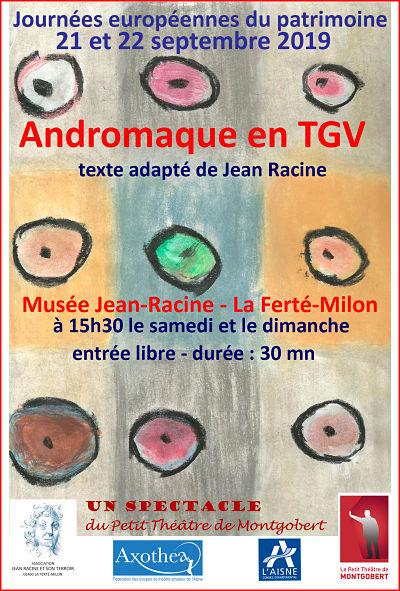 Andromage en TGV